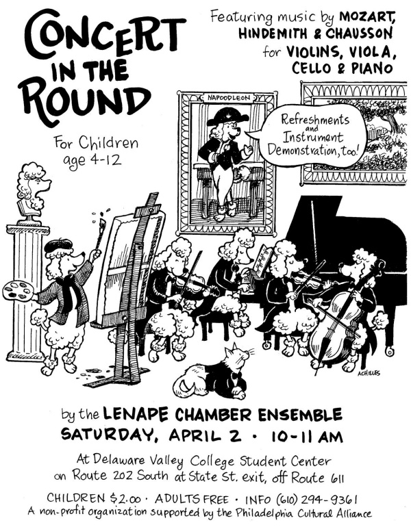 Children's Concert in the Round, Lenape Chamber Ensemble, Spring 2011