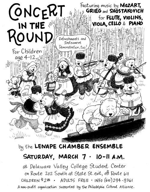 Children's Concert in the Round, Lenape Chamber Ensemble, March 2009