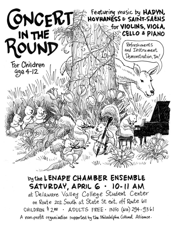 Lenape Chamber Ensemble Concert in the Round, April 6, 2013
