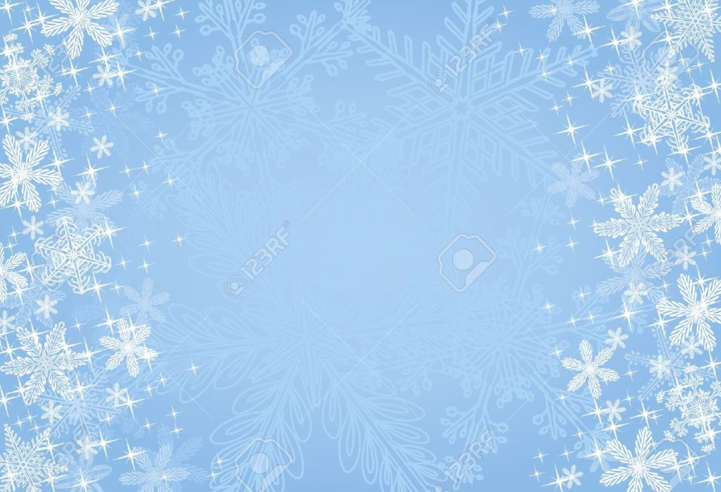 Christmas Background Vector.7880419 Blue Winter Or Christmas Background Stock Vector